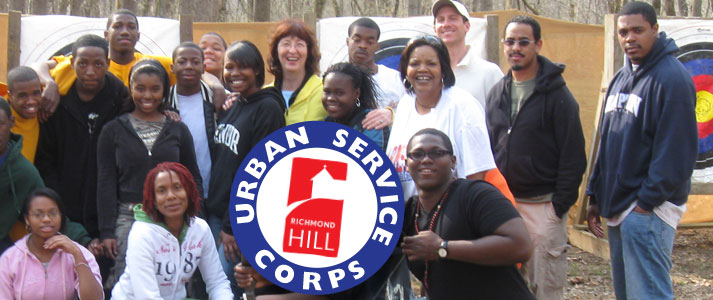 Join the Urban Service Corps at Richmond Hill