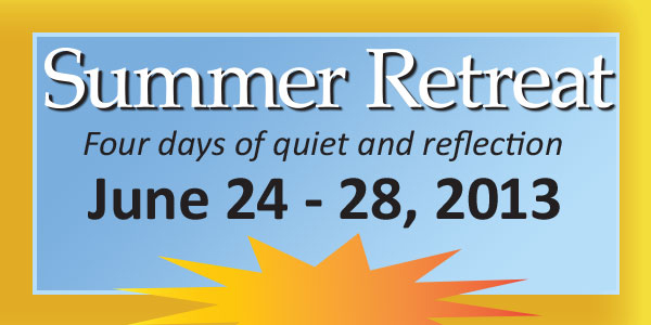 This summer, join us for some quiet reflection