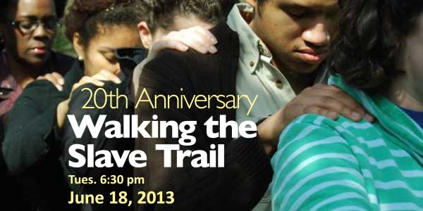 Anniversary Walk on the Historic Richmond Slave Trail