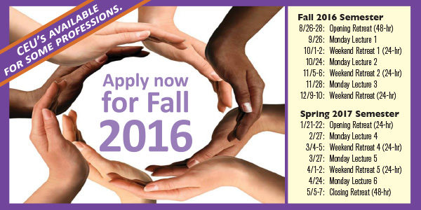 Now accepting applications: Koinonia School Fall 2016
