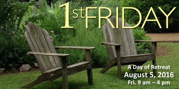 Join us for 1st Friday, August 5