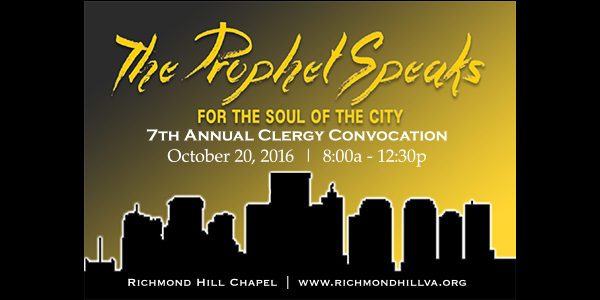 Clergy Convocation 2016: The Prophet Speaks