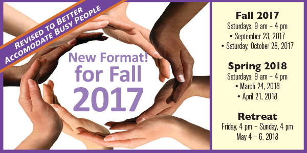 New Format for Koinonia School! Next seminar is Saturday, October 28, 9 am-4pm