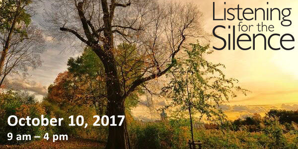 Listening for the Silence: October 10, 2017