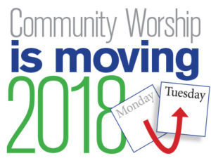 Moving in 2018: Community Worship